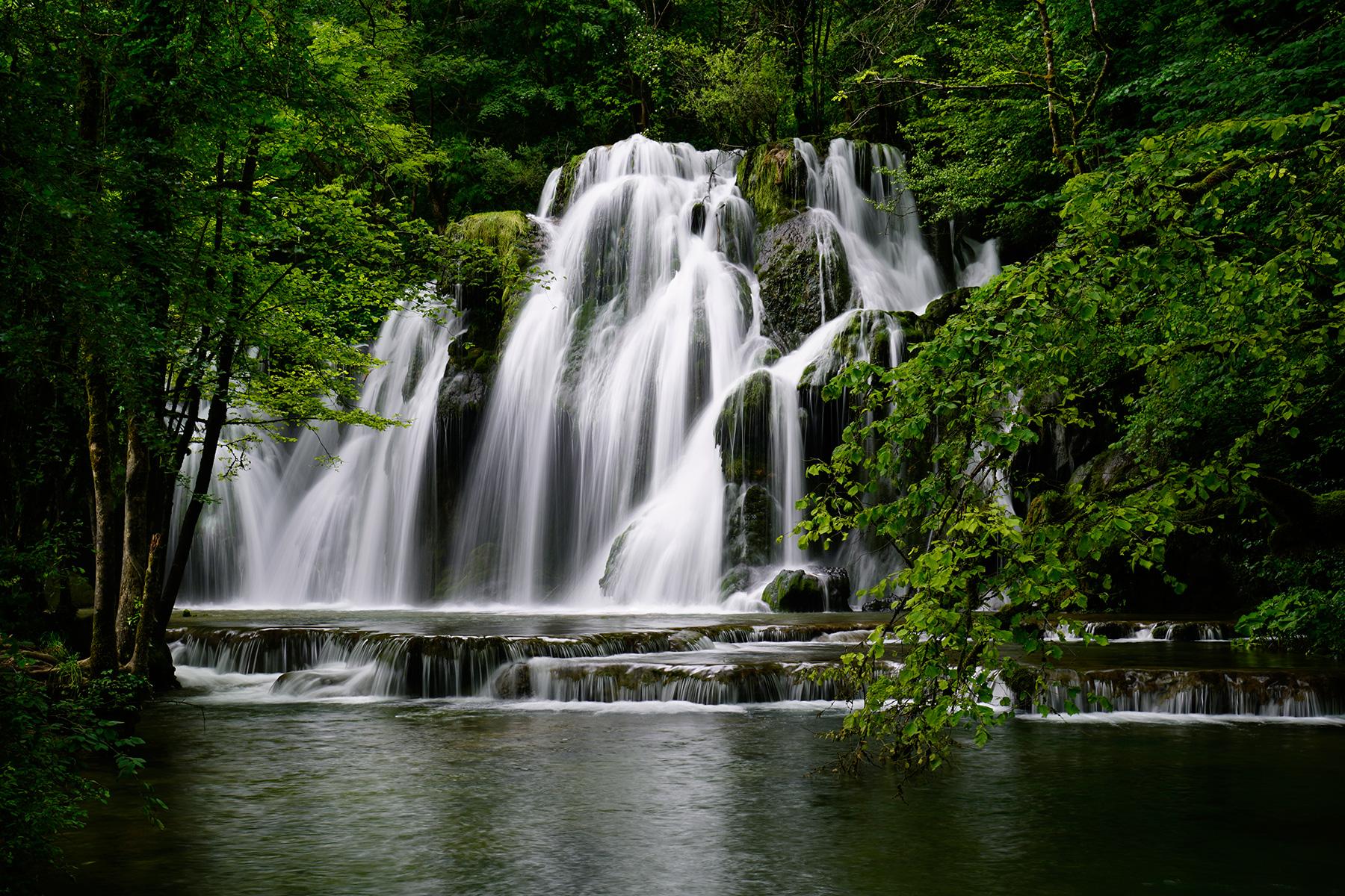 Photo c vennes torrent c t d 39 aumessas philippe - Image de cascade ...
