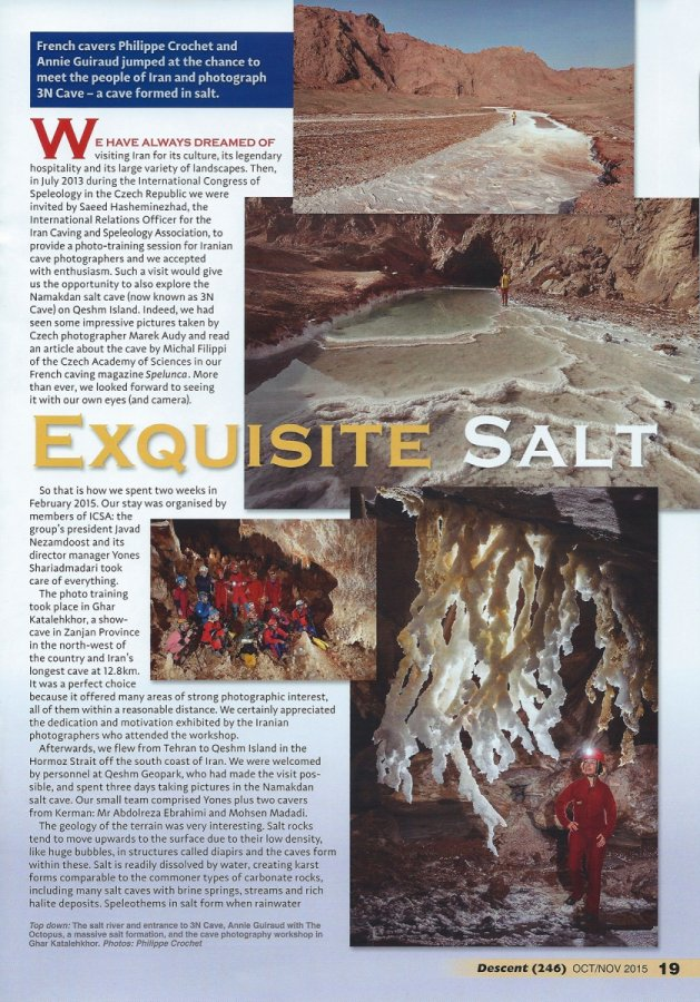 Descent n°246 (October 2015) : Exquisite Salt