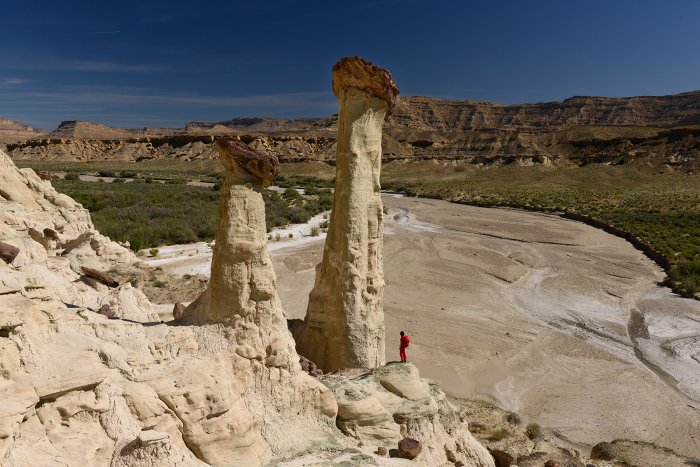 Grand Staircase Escalante National Monument (Utah, USA) - Wahweap Hoodoos(VO-14-0914)