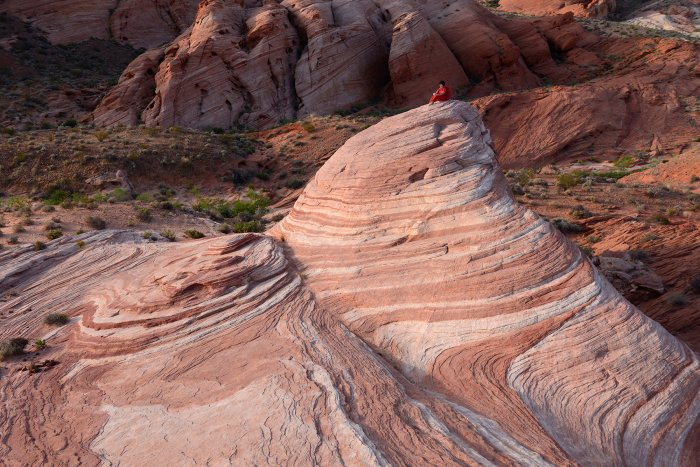 Valley of Fire State Park (Nevada, USA)- the Wave