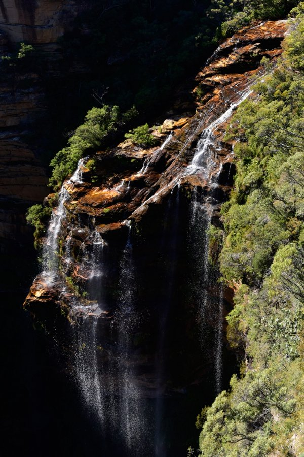 Blue Mountains National Park (New South Wales, Australie) - Katumba Falls(VO-17-0198)