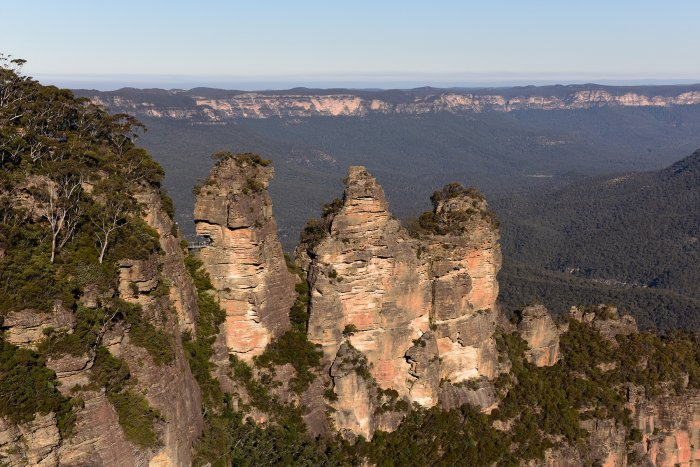 Blue Mountains National Park (New South Wales, Australie) - The Three Sisters (VO-17-0237)
